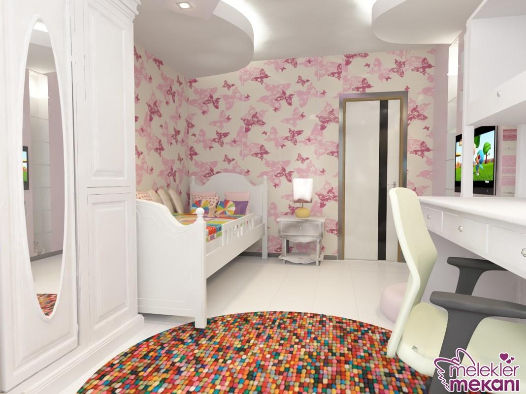 Yeni sezon şık çocuk odası tasarımlarından faydalanarak oda görünümlerinizde estetik etkiler yakalamanız mümkün.