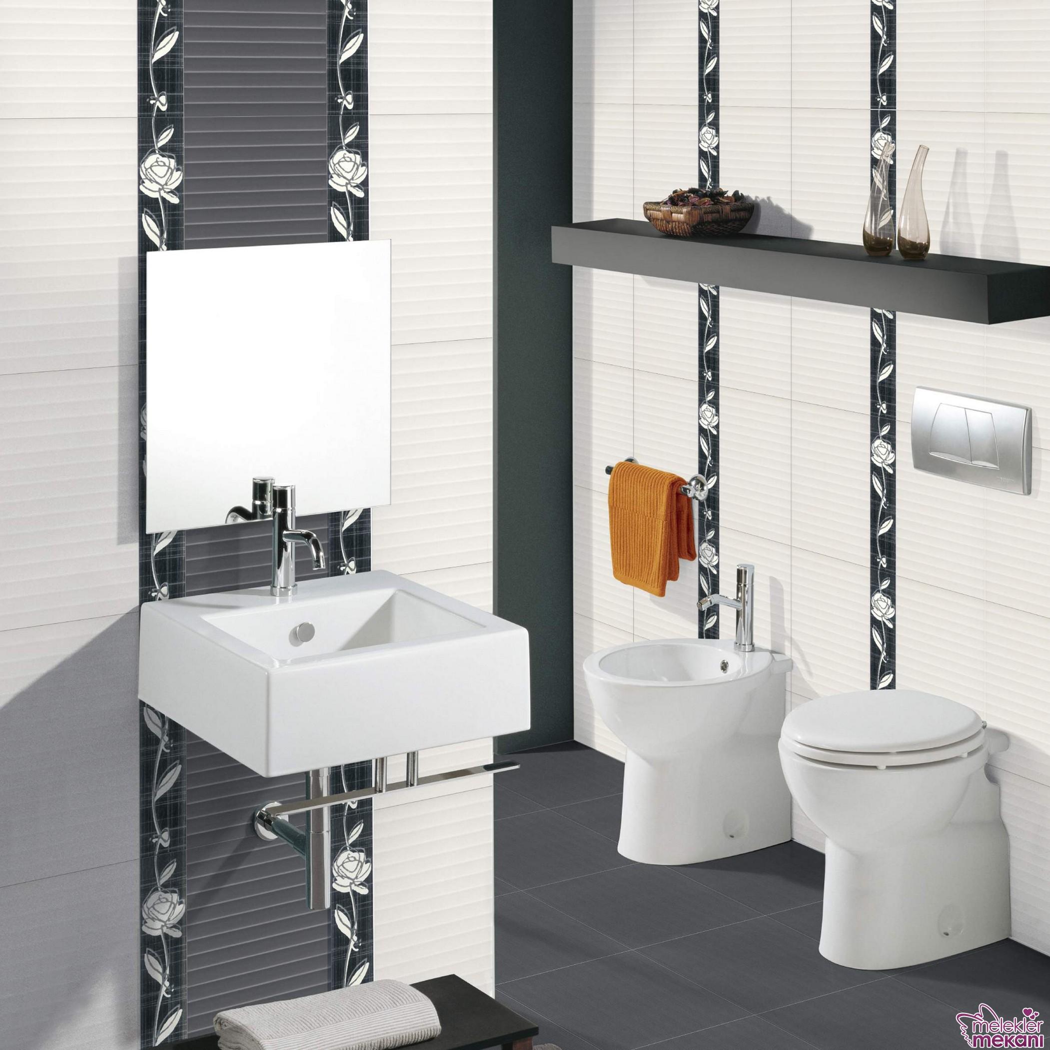 Yeni sezon banyo seramikleri dileyene modern görünüm yakalama fırsatı sunabilmektedir.