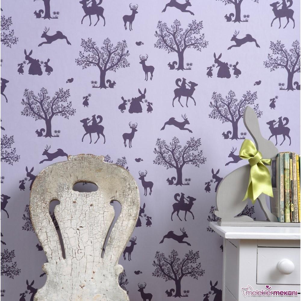 Duvar kağıdı görünümlü boya elde ediminde duvar boya aparatlarının işlevinden faydalanabilirsiniz.