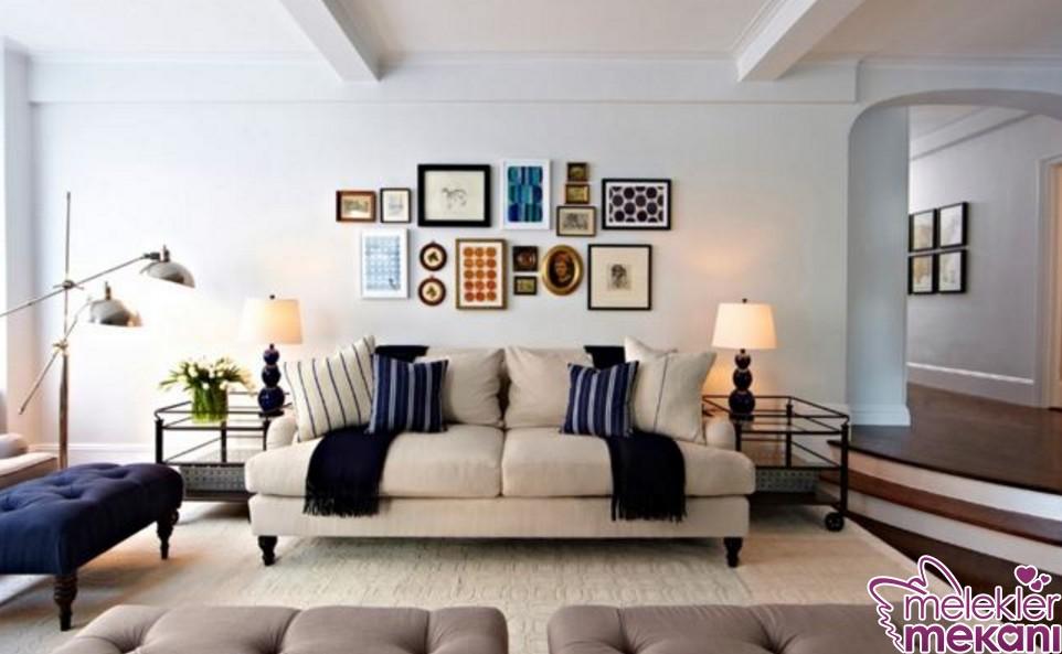 Salon Duvar Boyası Ne Renk Olmalı En Trend Uygulamalı Örnekler