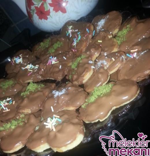 Çikolata Kaplı Fındıklı Kurabiye Yapımı Harika Bir Tarif Deneyin Mutlaka